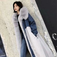 New Winter Women Ladies Long Sleeve Thicken Warm Zippers Turn-down collar Casual Real Sheepskin Female Fur Coat CY319