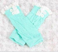 Moda Bebê Legwarmers de Inverno para Crianças Crianças Lace malha Polainas Meias bonito Bota