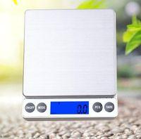 مقياس الالكترونية الرقمية يقول 0.01 جرام جيب الوزن والمجوهرات وزنها المطبخ مخبز شاشات الكريستال السائل المقاييس 1kg / 2kg / 3kg / 0.1g 500g / 0.01g