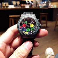 relojes de marca famosa de los hombres, materiales de fibra de carbono, una variedad de colores, fibra de carbono patrón único, cómodo de llevar, de tamaño personalizado aceptar
