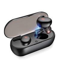 Y30 TWS بلوتوث 5.0 سماعات لاسلكية سماعات الأذن للماء البسيطة في الأذن HIFI سماعة تصميم مهد
