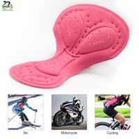 Almofada Ciclismo Gel Pad Feminino bicicleta Sportwear respirável Buraco equitação Base de Outdoor Senhora da bicicleta Roupa interior do WOSAWE Mulheres 3D Gel Pad