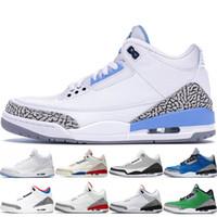 UNC 2020 zapatillas de baloncesto para hombre por el hombre True Blue Tinker QS Katrina puro Corea blanca Internacional de Vuelo Libre Lanza Línea de baloncesto de los hombres zapatos