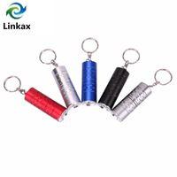 Tragbare Super-Mini-Schlüsselanhänger Schlüsselanhänger T6 LED 3-Modus 2000 Lumen Mini-Taschenlampe CR123A / 16340 Batterie Lanternas 5 Farben