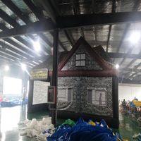 Inflável tenda pub irlandês, tenda bar inflável, tenda inlatable exterior