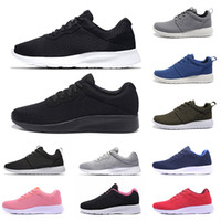 Discount Tanjun Running Shoes Triple Black White Grey Red Pink Breathable London Olympic Mens Trainers Sports Sneakers Chaussures Size 36-45