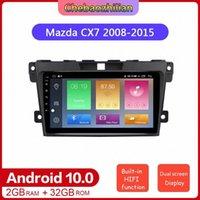 2 + 32G الروبوت 10 راديو السيارات GPS للملاحة DVD الوسائط المتعددة لاعب لCX7 2008-2020 WIFI ستيريو هاي فاي بلوتوث F2Cb #