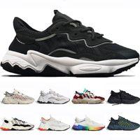 Top hommes de qualité des femmes Ozweego Courir Chaussures Era Noir Paquet de base gris Quatre Halloween tons vert néon hommes chaussures chaussures de sport formateur