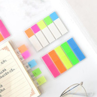 Fresh Rainbow Color Memo Pad Sticky Notes Memo Notebook Stat...