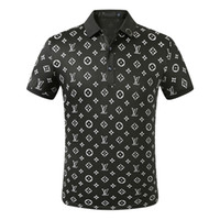 20New Designer Polo Shirts Männer Luxus-Polo-beiläufigen Männer Polo-T-Shirt Snake Bee Letter Print Stickerei Mode High Street Herren Polos M-3XL629
