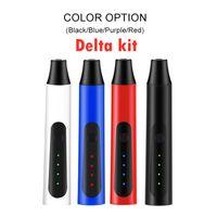 DELTA HERBAL 기화기 펜 키트 2200mah 온도 조절 드라이 허브 기화기 모 한방 펜 키트 4 색