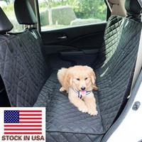 Практическое посещение домашних животных охватывает базовую автомобильную заднюю подушку для собак и кошек с небольшими крыльями - два куска многослойных композитных хлопка