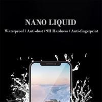 아이폰 나노 액체 필름 휴대 전화 화면 보호기 9H 안티 스크래치 항균 유백색 액상 강화 필름 1ml를
