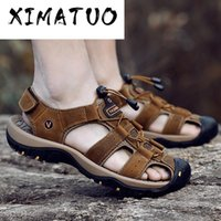 New Summer Men Sandals High Quality Beach Men Shoes High Qua...