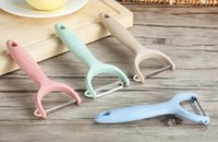 WORTHBUY Hot Sale Wheat Straw Potato Peeler Carrot Zester Slicer Eco-Friendly Fruit Vegetable Tools Kitchen Accessories 777 214