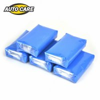 camión 5pcs100g coche mágico limpia de la arcilla limpiador auto de la barra Detallando la arandela del coche azul # yvFL