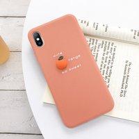 اي فون 11 حالة الأفوكادو رسالة لينة حالة الهاتف لفون برو 11 XS MAX XR X غطاء سيليكون حالة 3D لون كاندي 2020 الأزياء