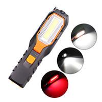 ZK20 Dropshipping COB LED Worklight USB recarregável de Trabalho Flexível magnética lâmpada de emergência luz tocha lanterna