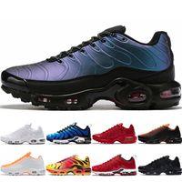 plus SE mens calientes de la venta se tn zapatos para correr retroceso Futuro total carmesí voltios Pintura de aerosol Chaussures deportes hombre azules zapatillas