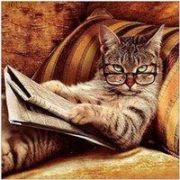 5D fai da te diamante pittura creativa animale gatto kit di ricamo del diamante regalo decorazione della casa