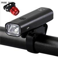 SONDE SHINY éclairage vélo LED USB rechargeable Faire du vélo Vélo tête avant Lampe haute qualité A714