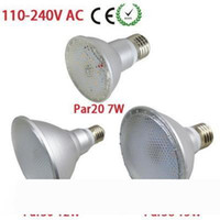 DHL 선박 IP65 방수 PAR20 PAR30 PAR38 E27 LED 110V-240V 7W 12W 15W 디 밍이 가능한 LED 천장 램프 스포트 라이트 전구