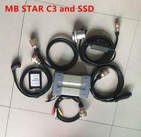 12V / 24V MB Estrela C3 Full Set Auto Diagnostic ferramenta X-tente ESTRELA C3 Mutiplexer Pro com SSD 2014.12V Software WIN XP