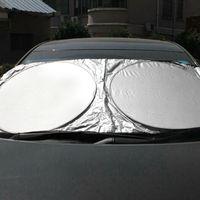 Parabrezza Schermo del sole della finestra anteriore della visiera parasole copertura della stagnola d'argento anti UV Reflector