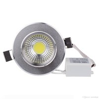 dimmable 7 Watts COB LED Ceiling Light Downlight Warm Cool White Spotlight Lamp Recessed Lighting Fixture , Halogen Bulb Replacement