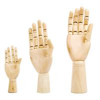 نماذج الرسم رسم المعرضة نموذج ديكور المنزل الفنان الإنسان الخشبية المعرضة 1 قطعة 12 10 7 بوصات خشبية يدوية الرئيسية حلية