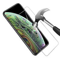 Verre trempé pour Samsung A01 A21 A51 A11 Pour LG 6 K51 pour Stylo moto e7 2020 paquet de détail Film de protection écran C
