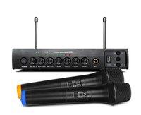 기계 Multimidia 스피커 프로젝터 노래에 대한 USB 에코 듀얼 채널 가라오케와 S-16M 전문 UHF 무선 마이크 시스템