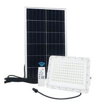 Luz de inundación solar 60W 120W 200W SMD 3030 con la lente al aire libre impermeable de la calle Jardín Solar lámpara de luz de emergencia de seguridad Reflector