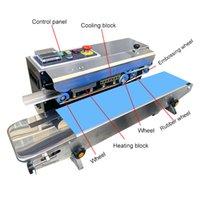 Máquina de sellado rápido CE Máquina de sellado de película continua automática Máquina de embalaje de la máquina de embalaje de la máquina inflada con la fecha de impresión