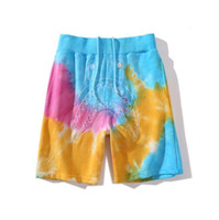 Summer Men' s Color Camo Hip Hop Pants Shorts Men Casual...