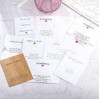 Nuevo 100pc / lote Pulsera de la joyería Pantalla de suspensión Tarjetas de colgar 7 * 9cm Impresión Papel Joyería Embalaje Tarjeta de embalaje DIY Embalaje hecho a mano