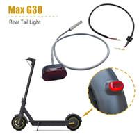 Lampe LED Gyrophares Tail Scooter électrique Feu arrière pour Ninebot MAX G30