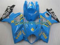 Körper für SUZUKI GSXR1000 GSXR1000 heißen GSXR1000 07 08 Karosserie GSX R1000 07 08 K7 GSXR 1000 2007 2008 blau schwarz AC24 Voll Verkleidungs-Kit