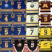 Buffalo Sabres JERRY KORAB MIKE RAMSEY Phil Housley RICK MARTIN ROY DEREK Kyle Okposo Rick Dudley BRAD MAI Dale Hawerchuk Hockey Maillots