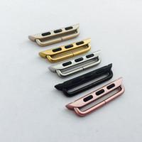 الفولاذ المقاوم للصدأ ووتش محول للحصول على أبل 38MM 40MM 42MM 44mm وفرقة رابط لسلسلة أبل ووتش 1 2 3 4 5 محول الإبزيم
