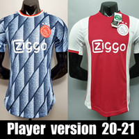 Thailand PLAYER VERSION 20 21 ajax soccer jersey PROMES ajax...