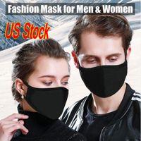 En Máscaras de la PM 2.5! Algodón de la manera de la cara con máscaras de respiración de diseño Máscaras lavable de tela reutilizables Protección anti polvo protectoras