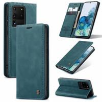 Stand de luxe Flip Portefeuille Téléphone pour Huawei P40 PRO P30 P20 P20 Lite Mate 30 Nova 7i P Couverture arrière intelligente
