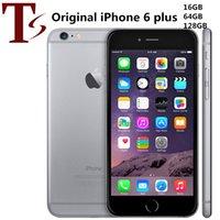 Recuperado Original da Apple iPhone 6 Plus com impressão digital 5.5 polegadas A8 16/64 / 128GB ROM IOS Desbloqueado LTE 4G Telefone