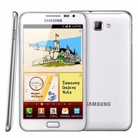 Восстановленное Оригинал Samsung Galaxy Note N7000 5,3-дюймовый Dual Core 1GB RAM 16RM ROM 8MP 3G разблокирована Android мобильного телефона Свободный DHL