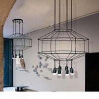 I moderni semplici lampade a sospensione design fai da te ciondolo lungo cavo con spina nella sala da pranzo Soggiorno Ristorante Wall Hanging Lamp
