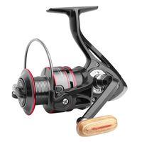 Reel Fishing Tous Spool métal Moulinet 8KG Max glisser la poignée en acier inoxydable Ligne Spool Saltwater Accessoires de pêche