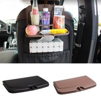 Hot Foldable Car Seat Back Drink Holder ABS Bottle Cup Holders Folding Dining Table for Travel Car accessories