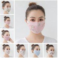 Frauen-Schal-Gesichtsmaske aus Seidenchiffon Sommer Outdoor-Anti-UV-windundurchlässigen Staubdicht Sonnenschutz-Masken Gesichts-Schild DDA146
