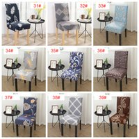 Floral Printing Chair Cover Home Dining Multifunctional Spandex Chair Cover Removable Elastic Slipcovers Seat Covers 39 Styles BH2929 DBC